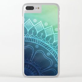 Boho Clear iPhone Case