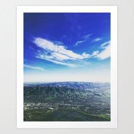 Coasting California Art Print