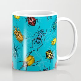 Beetles Coffee Mug