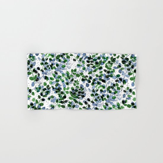 Synergy Blue and Green Hand & Bath Towel