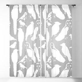 Wild Birds of America mosaic effect Blackout Curtain