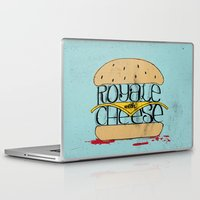 pulp Laptop & iPad Skins featuring Pulp Fiction by Drew Wallace