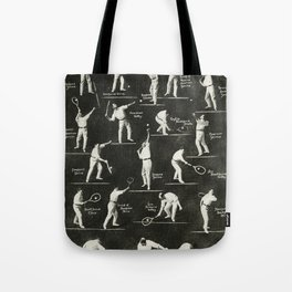 gentlemen prefer tennis Tote Bag