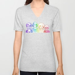Rainbow Girls Unisex V-Neck