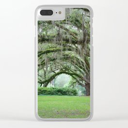 Southern Grace Clear iPhone Case