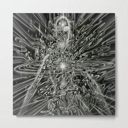 Integration Metal Print