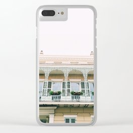 Vieux Carré New Orleans Clear iPhone Case