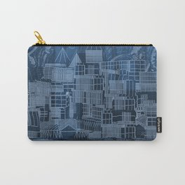 Submerged City Carry-All Pouch