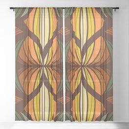 Breeze Block Sheer Curtain