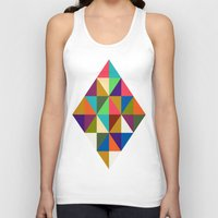 woody Tank Tops featuring Woody by Bianca Green