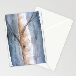 Bouleau en hiver Stationery Cards
