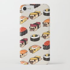 Sushi Pug iPhone 7 Slim Case