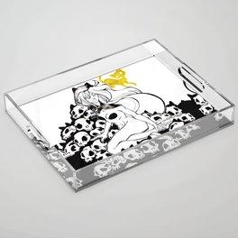 Inktober : Teeming Acrylic Tray