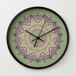 Green and great Kaleid by LH Wall Clock