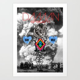 DAMN SYSTEM Art Print