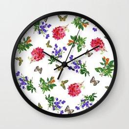 Botanical Mix Wall Clock