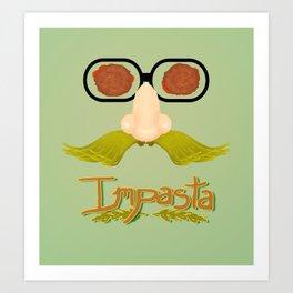 Impasta Art Print