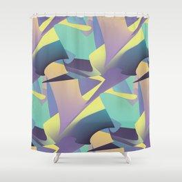 Holo Yolo Shower Curtain