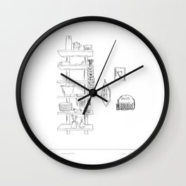Med Style Wall Clock
