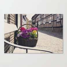 The Basket Canvas Print