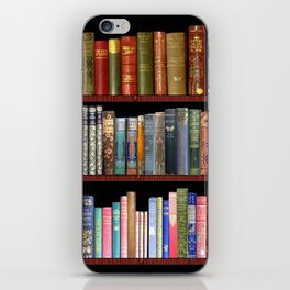 Vintage books ft Jane Austen & more iPhone Skin