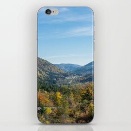 Colorful French valley iPhone Skin