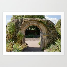The Old Archway Art Print