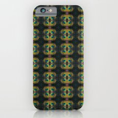 Peacock Bead Abstract iPhone 6s Slim Case