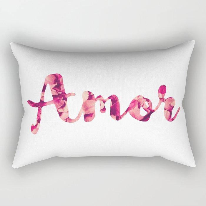 Blooming Love Rectangular Pillow