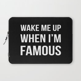 The Sudden Fame Laptop Sleeve