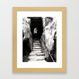 Ireland: Wishing Steps Framed Art Print