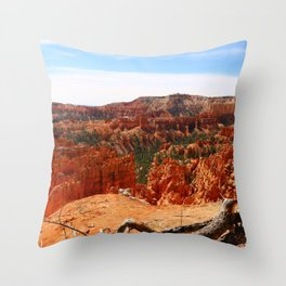 Sunset Point At  Bryce Canyon Throw Pillow