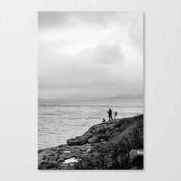 Fishing the Irish Coast Canvas Print
