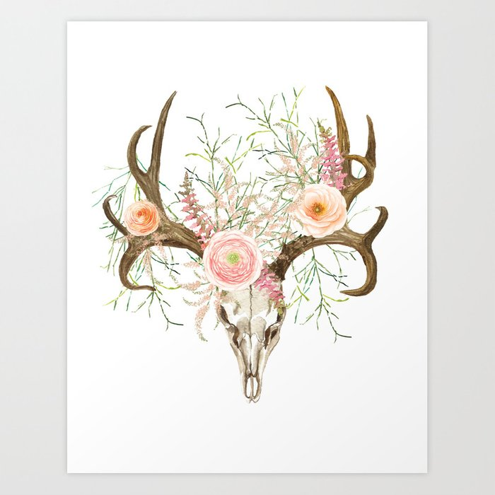 How To Paint Antlers White