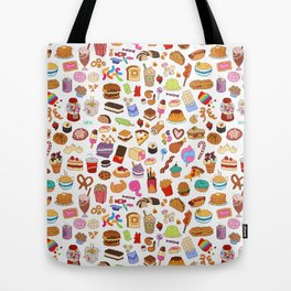 Cute food Tote Bag