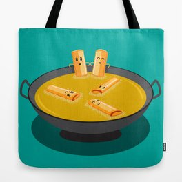 Deep Fry Spring Rolls Hot Tubbing Tote Bag