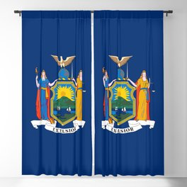 New York State Flag Blackout Curtain