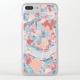 Seoul map Clear iPhone Case