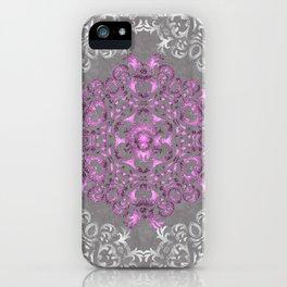 Mandala Pattern with Glitters II iPhone Case