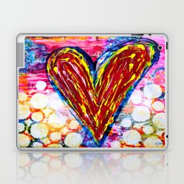 Bubbling with Love Laptop & iPad Skin