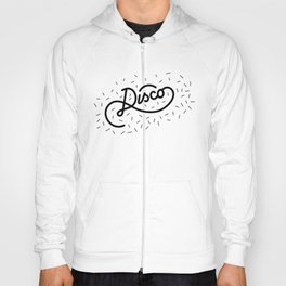 Disco black Hoody