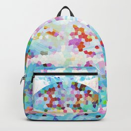 Abstract Goldfish Backpack