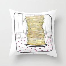 Pancakes Throw Pillow