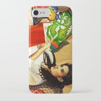 reading iPhone & iPod Cases featuring Reading by Madelyne Joan Templeton