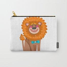 lion cartoon  cute Carry-All Pouch
