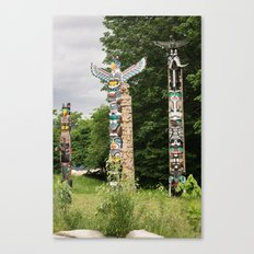 totems. Canvas Print