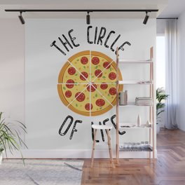 The Circle Of Life Funny Quote Wall Mural