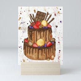 Chocolate sensation Mini Art Print