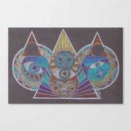 Tesselate Canvas Print