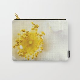 White camellia Carry-All Pouch